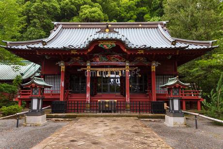 伊豆山神社の写真素材 [FYI04088428]