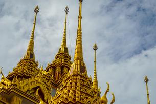 ワット・ラチャナダラム ロハプラサート(タイ王国 バンコク)の写真素材 [FYI04088494]