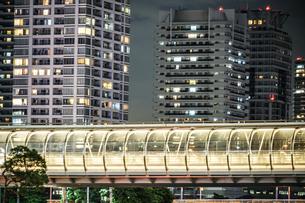 横浜・みなとみらいのマンション群の写真素材 [FYI04088579]