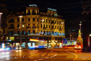 スイス・チューリッヒの街並みの写真素材 [FYI04088590]