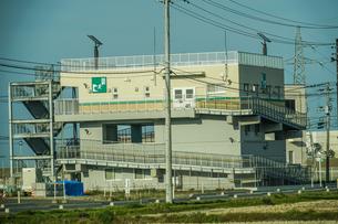 津波避難タワー(宮城県仙台市)の写真素材 [FYI04088591]
