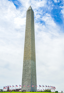 ワシントン記念塔(ワシントンDC)のイメージの写真素材 [FYI04088688]