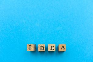 アルファベット テキスト 文字 英字 単語 スタンプ 青の写真素材 [FYI04089066]