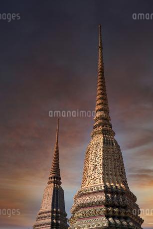 ワットポー 仏塔の写真素材 [FYI04089392]
