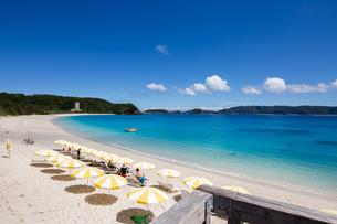 沖縄県座間味ビーチの写真素材 [FYI04089832]