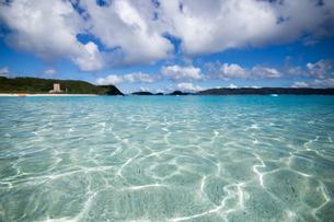 沖縄県座間味ビーチの写真素材 [FYI04089839]