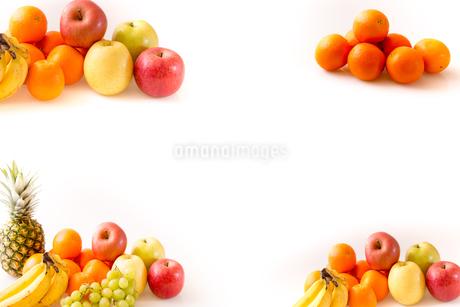 白背景のフルーツの写真素材 [FYI04089890]