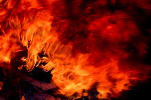 炎の写真素材 [FYI04090043]