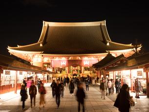 東京都 浅草寺の写真素材 [FYI04090246]