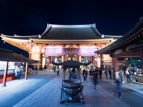 東京都 浅草寺の写真素材 [FYI04090248]