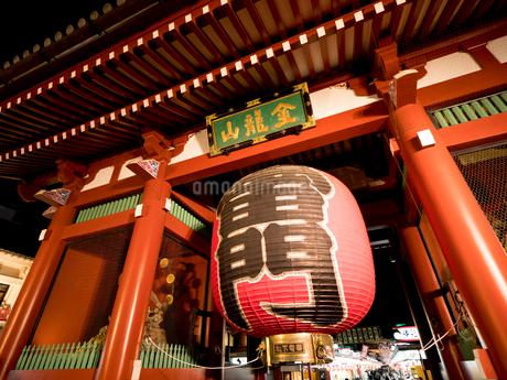 東京都 浅草寺雷門の写真素材 [FYI04090253]