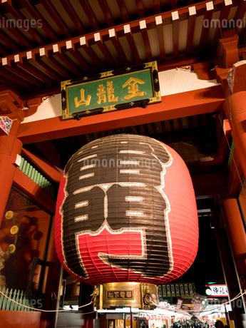 東京都 浅草寺雷門の写真素材 [FYI04090254]