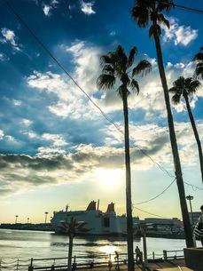 大阪港の写真素材 [FYI04090514]