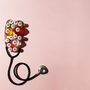 聴診器の写真素材 [FYI04090936]