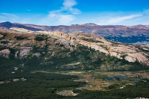 パタゴニアの山岳地帯/南極ブナの森の写真素材 [FYI04091271]