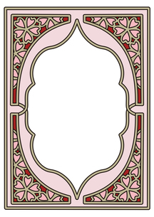 桜フレーム縦5のイラスト素材 [FYI04091673]