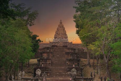 パノム・ルン神殿の写真素材 [FYI04091675]
