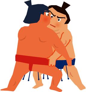 相撲のイラスト素材 [FYI04091865]