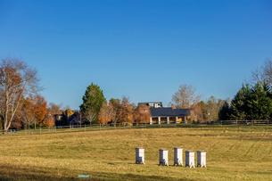 アメリカ、ヴァージニア州リトルワシントン村の風景の写真素材 [FYI04091992]