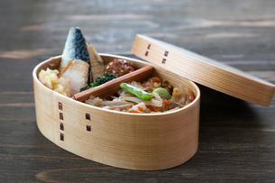 和食の弁当の写真素材 [FYI04092028]