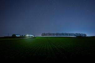 夜の十勝の写真素材 [FYI04092034]