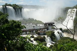 イグアスの滝の写真素材 [FYI04092064]