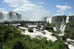 イグアスの滝の写真素材 [FYI04092096]