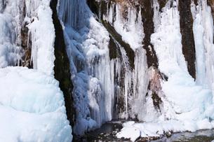フンベの滝の氷瀑の写真素材 [FYI04092476]