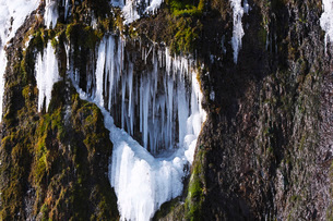 フンベの滝の氷瀑の写真素材 [FYI04092480]