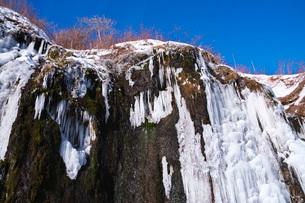 フンベの滝の氷瀑の写真素材 [FYI04092484]