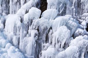 フンベの滝の氷瀑の写真素材 [FYI04092515]