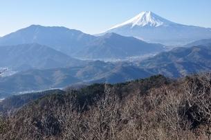 高川山より望む富士山の写真素材 [FYI04092675]