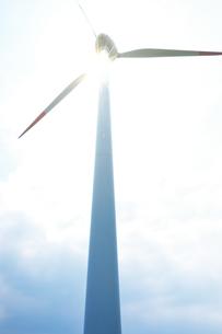 風力発電の写真素材 [FYI04092716]