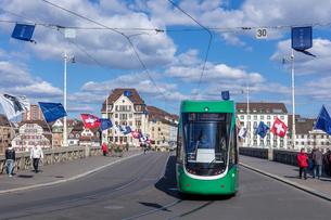 スイス、バーゼル市街の写真素材 [FYI04093008]