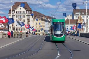 スイス、バーゼル市街の写真素材 [FYI04093010]