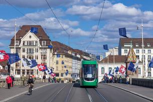 スイス、バーゼル市街の写真素材 [FYI04093011]