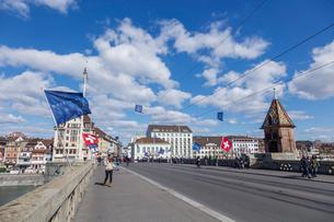 スイス、バーゼル市街の写真素材 [FYI04093017]