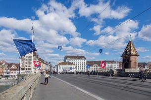 スイス、バーゼル市街の写真素材 [FYI04093018]