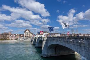 スイス、バーゼル市街の写真素材 [FYI04093020]