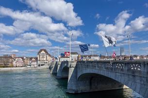 スイス、バーゼル市街の写真素材 [FYI04093021]