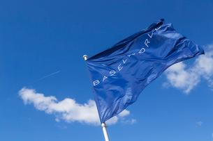 バーゼルワールドの旗の写真素材 [FYI04093024]