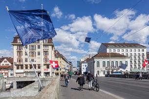 スイス、バーゼル市街の写真素材 [FYI04093088]