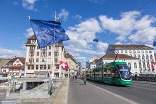 スイス、バーゼル市街の写真素材 [FYI04093089]
