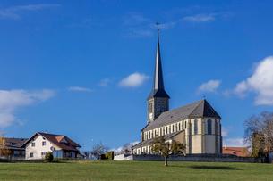 スイス、フリブール郊外の写真素材 [FYI04093116]