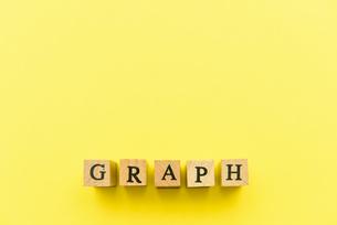 アルファベット テキスト 文字 英字 単語 スタンプ 素材 黄色の写真素材 [FYI04093254]
