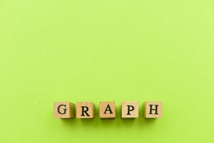 アルファベット テキスト 文字 英字 単語 スタンプ 素材 緑の写真素材 [FYI04093276]