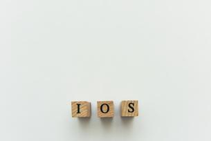 アルファベット テキスト 文字 英字 単語 スタンプ 素材 グレーの写真素材 [FYI04093332]