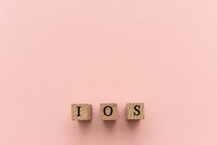 アルファベット テキスト 文字 英字 単語 スタンプ 素材 ピンクの写真素材 [FYI04093333]