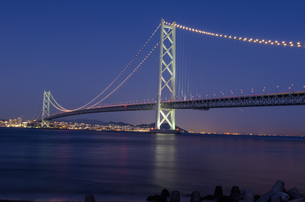 明石海峡大橋の写真素材 [FYI04094711]