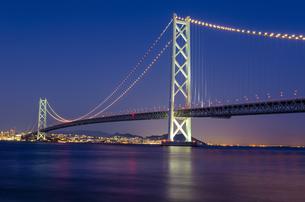 明石海峡大橋の写真素材 [FYI04094712]